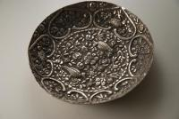 A 19th Century Ottoman Silver Dish: Turkish Silver