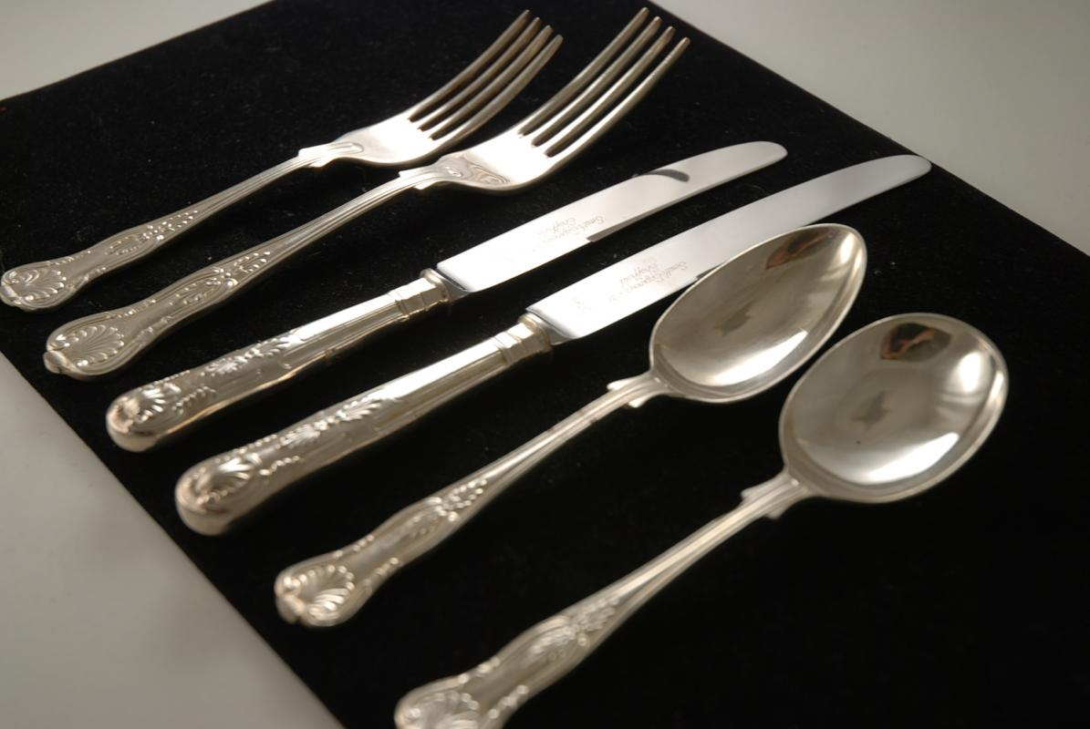 Silver plated cutlery value