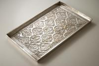 Arts and Crafts Silver Plated Tray by Keswick School of Industrial Arts