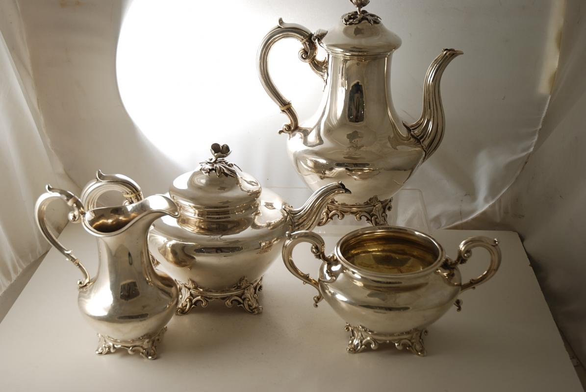 Coffee pot Victorian Silver plated Tea James Deakin /& Sons circa 1890 British silver