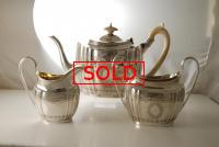 An Antique Silver Tea Set made in Chester 1901