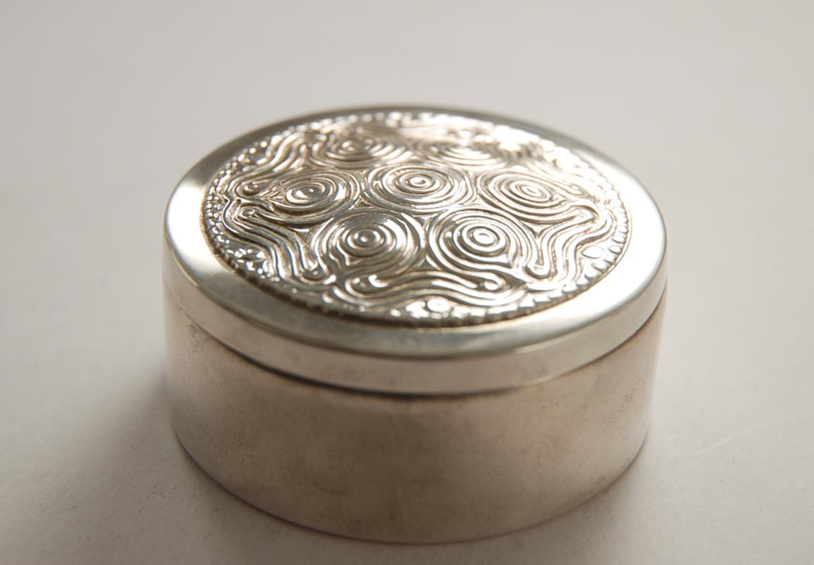 A Lalaounis Greek Sterling Silver Box