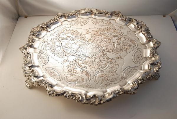 how to clean old silver plate